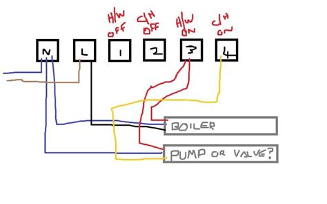 central heating timer wiring diagram 36 wiring diagram