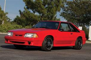Ford Mustang 1993 1993 Ford Mustang Svt Cobra R With 600 Going Up For