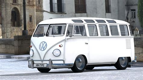 volkswagen type 6 1962 volkswagen type 2 sambabus gran turismo 6 by