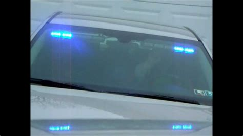 surmount led stealth visor light stealth visor light on impala youtube