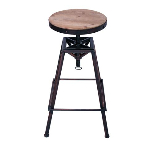 antique style bar stools joveco metal bar stool barstool adjustable height with