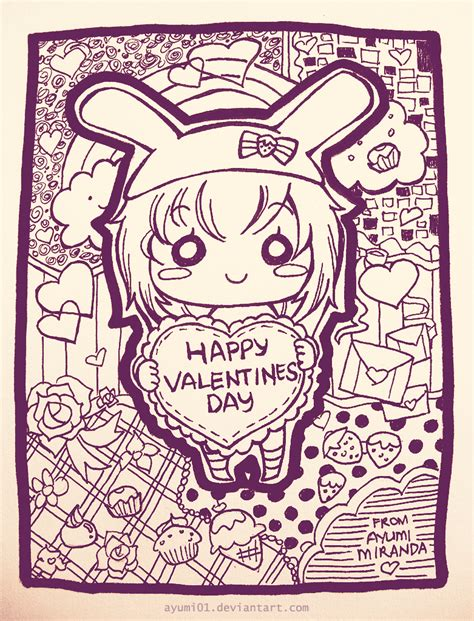 doodle by doodle valentines by ayumi01 on deviantart