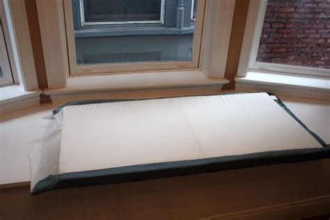 window seat foam how to make no sew window seat cushions craft room update