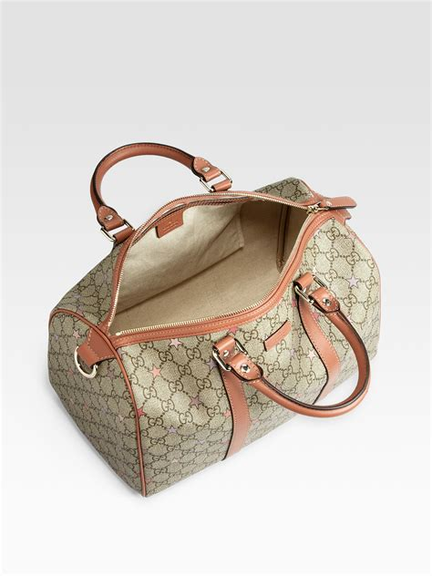 Gucci Noa 3056 Canvas gucci gg supreme canvas boston bag in lyst
