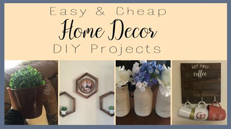 diy home decor projects cheap home decor diy projects dollar tree cheap rustic