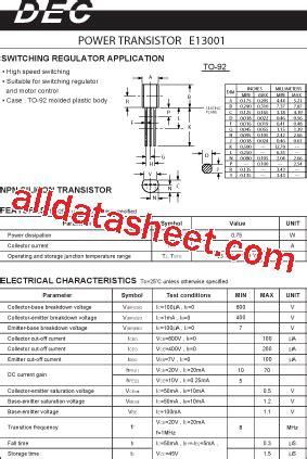 johansen rf inductors transistor xw 13001 datasheet pdf 28 images 13001 datasheet datasheets manu page 1 harom to