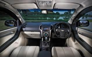 Chevrolet Interior Forbidden Fruit 2013 Holden Colorado 7 Truck Trend News