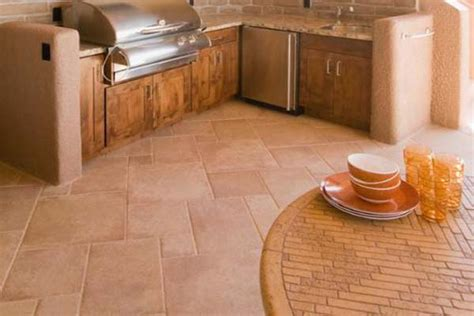 flooring best flooring for kitchen classic porcelain