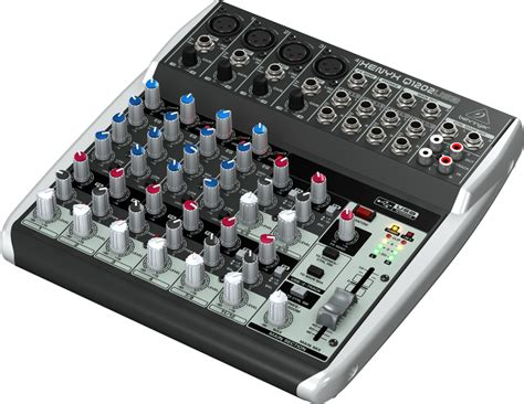 Mixer Behringer 12 Channel Bekas behringer xenyx q1202usb 12 channel 2 usb mixer with built in compressors compass