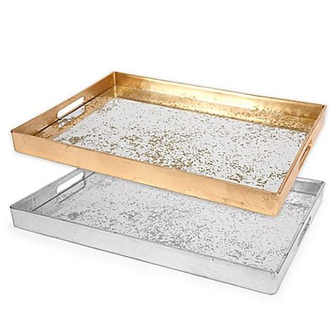 decorative serving trays decorative serving tray bed bath beyond