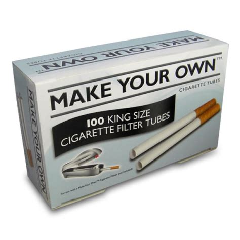 How To Make Your Own Rolling Papers - make your own 100 king size filter shiva