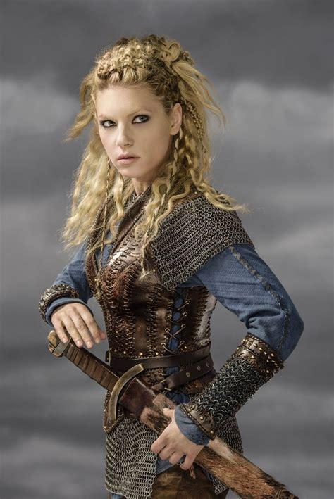viking show braid katherynwinnick lagertha vikings historychannel season
