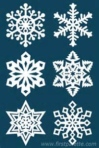 paper snowflake craft kids crafts firstpalette com