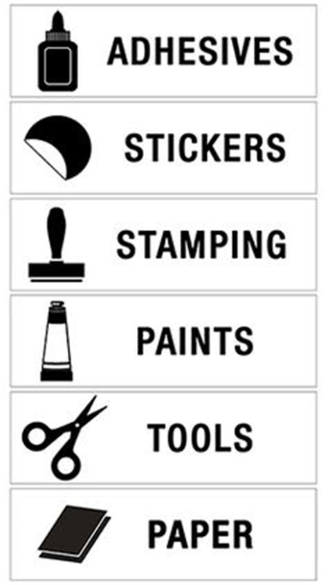 craft room labels 1000 images about home future craft room on