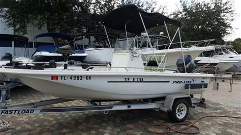nada proline boats pro line bay boats for sale