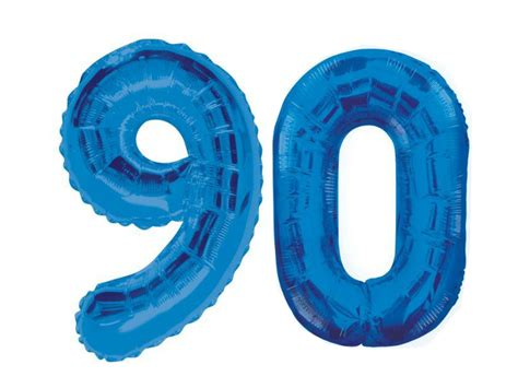 Balloon Decoration For Birthday At Home giant 90th birthday party number 90 foil balloon helium