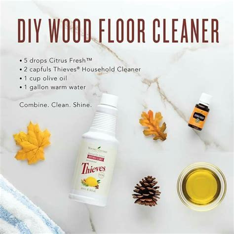 You can make your own DIY nontoxic wood floor cleaner with