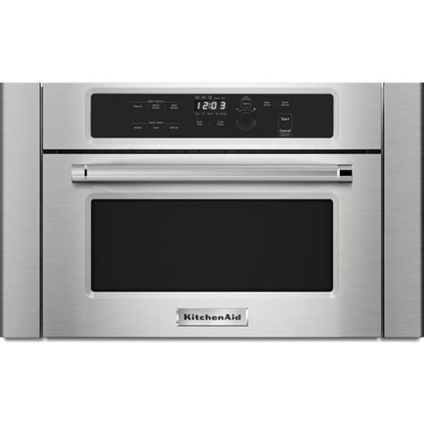 Kitchen Aid Microwaves by 24 Kitchenaid Built In Microwave Oven With 1000 Watt