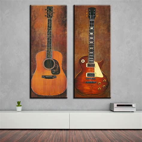 decorative paintings for home 2 studio room guitar top decorative wall