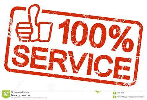 a to be a service st with text 100 service stock vector illustration 62094072