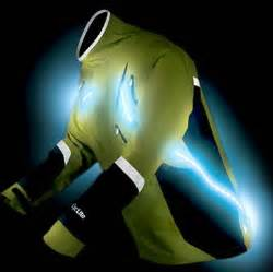 Lights For Runners Stridelite Jacket Strobes For Night Running