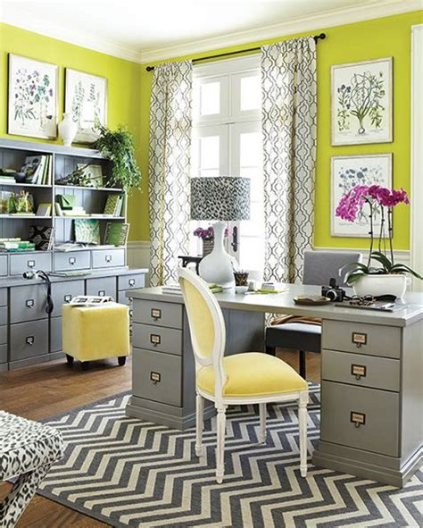 office curtains ideas top 5 colorful home office design ideas