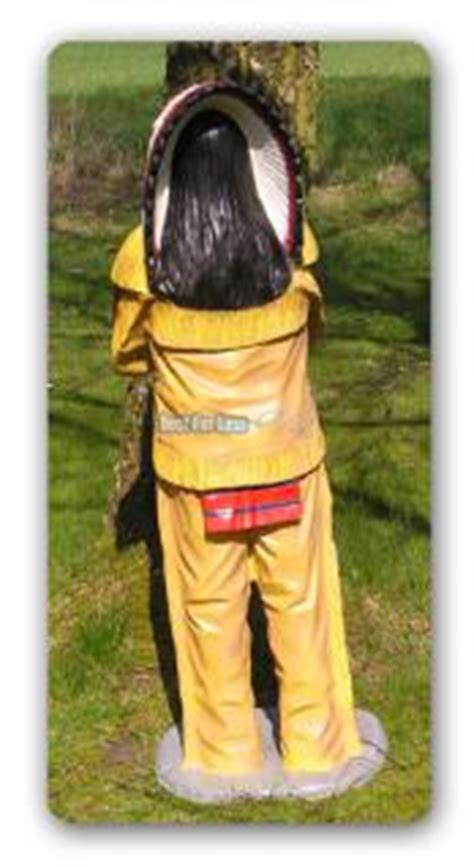 Indian Motorrad Figur by Indianer Dekofigur In Lebensgro 223 Kaufen Bei Helga Freier