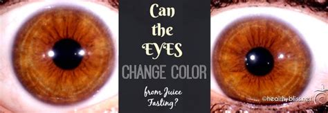 Iridology Detox by Can Change Colors On A Juice Fast Thompson