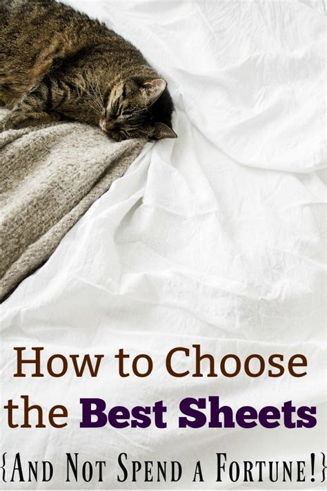 how to choose sheets how to choose the best sheets and not spend a fortune