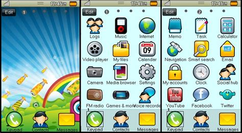 themes for samsung galaxy wave 525 my wave 525 scrap theme for samsung wave 525