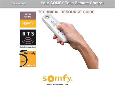 How To Program Somfy Blinds how to program a somfy telis remote 2009