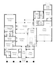 Acadian Floor Plans House Plans 2776 Square Feet 4 Bedroom 3 Bath Louisiana