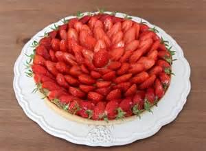 chez m 233 lusine tarte aux fraises avec cr 232 me p 226 tissi 232 re