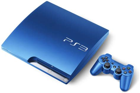 Ps 3 Slim 320gb Cfw 475 Limited Edition scarlet and splash blue 320 gb ps3 slim consoles unfinished