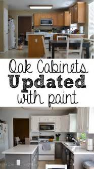 painted kitchen cabinets before and after what does she