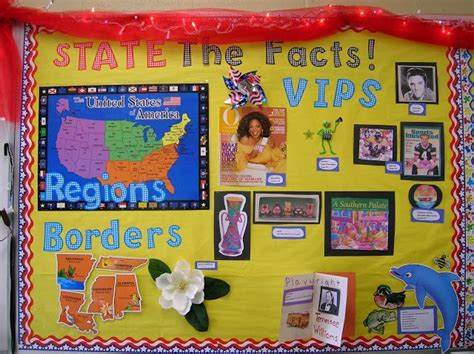 new year facts soft school quot state the facts quot using a bulletin board display to