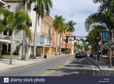 historical downtown ft fort myers florida fl stock photo