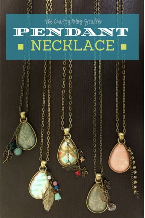 how to make and sell jewelry how to make a jewelry pendant necklace the crafty
