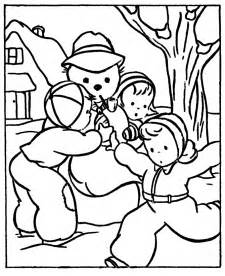 winter coloring pictures free printable winter coloring pages for