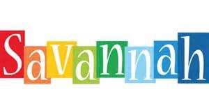 savannah logo name logo generator smoothie summer