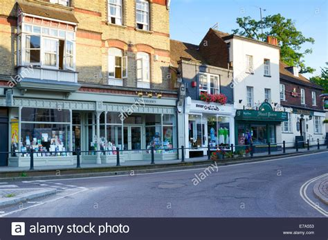 houses to buy in dorking dorking high street junction with west st and south st dorking stock photo royalty