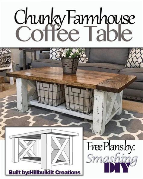 25 best ideas about farmhouse coffee tables on