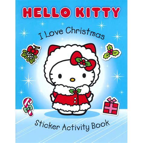 kitty  love christmas sticker activity book  harper collins sticker books   works