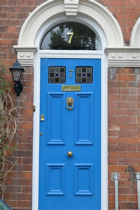 Front Door House Numbers Gold House Numbers Traditional Front Doors Other Metro By The Fanlight Number Co