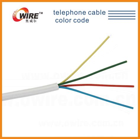 telephone cable color code view telephone cable color