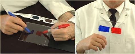 How To Make Paper 3d Glasses - how to make 3d glasses at home in 10 seconds