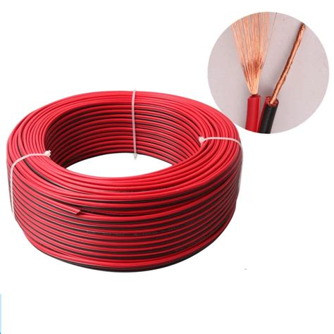 10meters lot rvb2 0 5 20awg pvc insulated wire 2pin