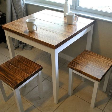 Small Table With 2 Stools by 25 Best Ideas About Small Dining Tables On