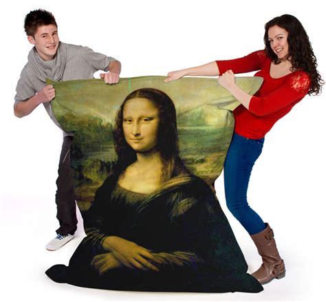 Kaos Jumbo Monalisa Mona Beanbag