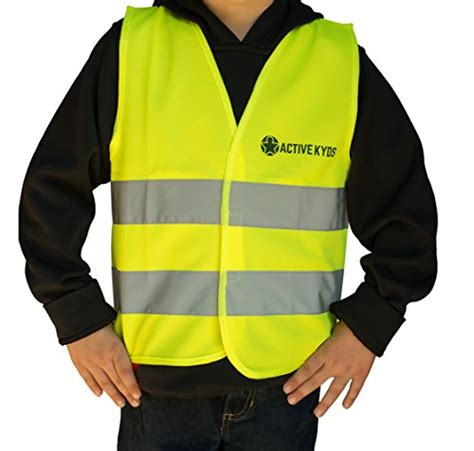Kid Vest Abu Rdr active kyds high visibility safety vest for construction costume biking buy in